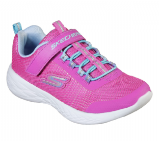 Kids Skechers 82008 PKMT Go Run 600 - Sparkle Runner Pink Multi Trainers